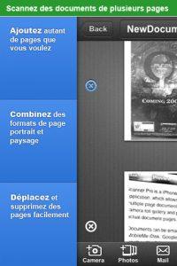 Application Scanner Pro sur iPhone