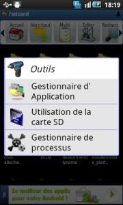 applications astro gestionnaire de fichiers sur Android