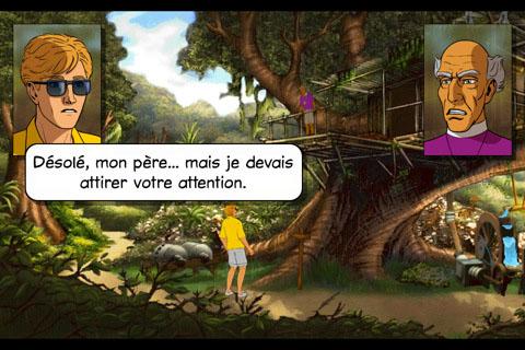 Jeu les Chevaliers de Baphomet – les Boucliers de Quetzalcoatl sur iPad