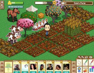 Farmville jeu facebook