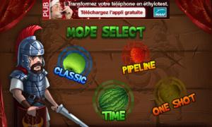 Jeu Fruit Slice sur Android