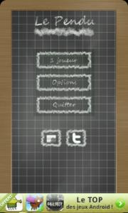 application le pendu sur android