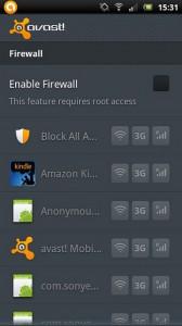 antivirus android avast