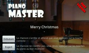 Application Android Piano Master