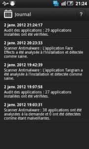 Appli Bitdefender Mobile Security android