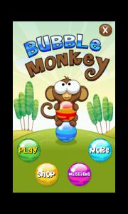 Le Singe des Bulles jeu Android