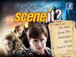 Scene it ? Harry Potter ipad 4
