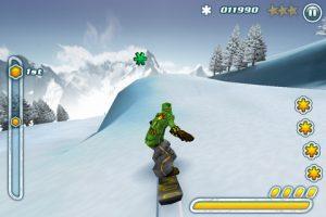 Snowboard Hero sur iPad 1