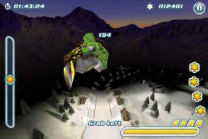 Snowboard Hero sur iPad 2