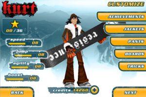 Snowboard Hero sur iPad 3