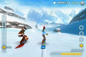 Snowboard Hero sur iPad 4