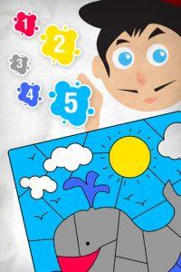 Coloriage magique - Un jeu de dessin pour les enfants ipad 2