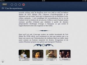 une touche d'histoire application iphone ipad