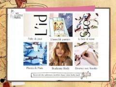 Application My Little Paris sur iPad
