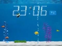 Application Colorful Aquarium lite sur iPad