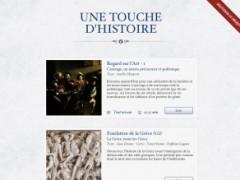 Application iPad : Une Touche d'Histoire