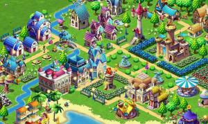 Jeu Fantasy Town sur Android