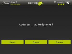 orthographe iphone