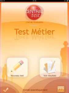 Test Métier application IPAD