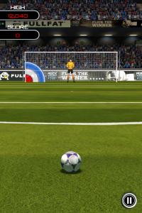 Jeu Flick Soccer iPhone