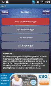 Application Mon bac philosophie 2012