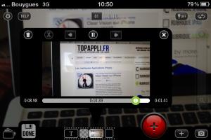 video camera iphone
