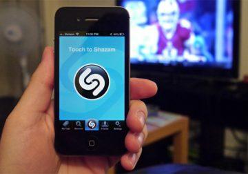 Découvrez Shazam Apple