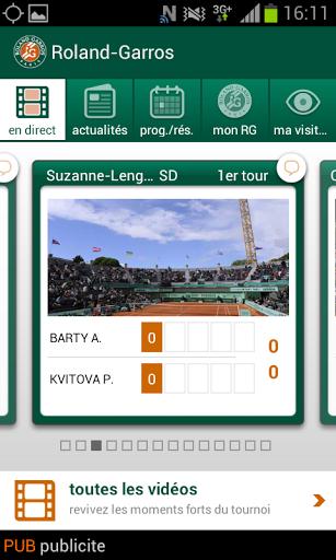 Appli Roland Garros 2013