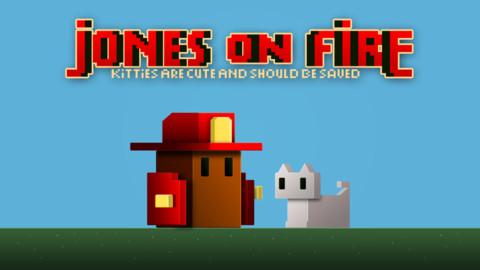 Jones on fire