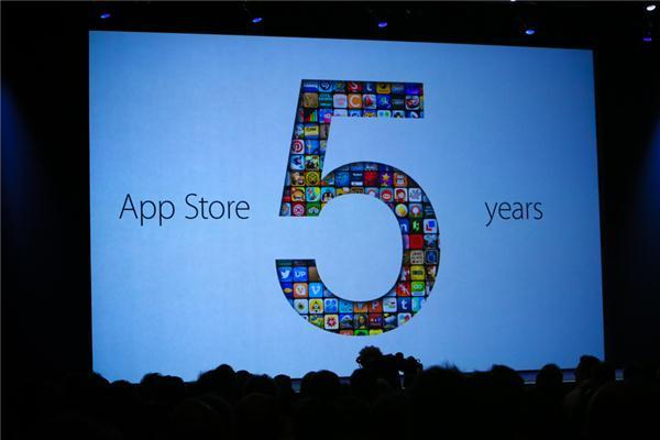 5 ans de l'App Store