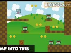 Sauvez Hipopoland des maléfiques BadBats en jouant à Hipopocalypse sur Android !