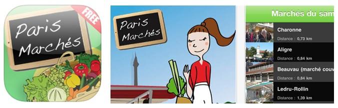 Paris marchés