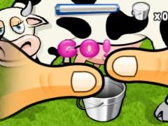 Milk the cow: l'application pour apprendre à traire une vache