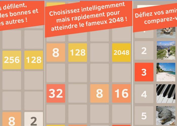 run to 2048 tile
