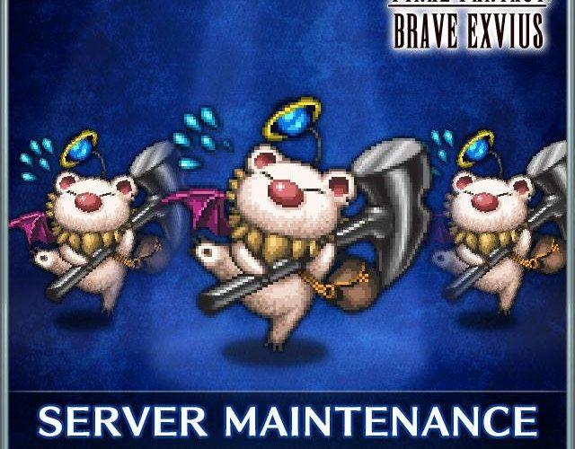 Final Fantasy Brave Exvius Maintenance FFVII