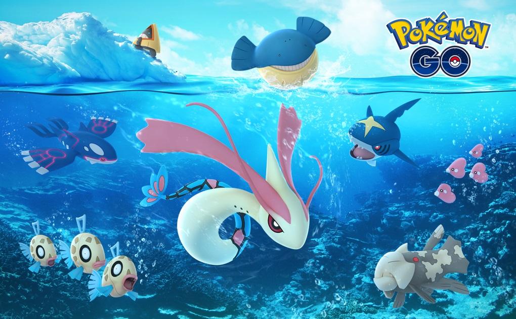 Pokemon Go événement de Noel pokemon Glace