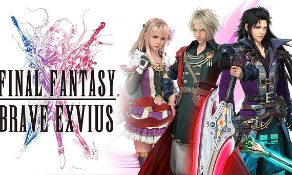Final Fantasy Brave Exvius Square Enix mise à jour FFXII