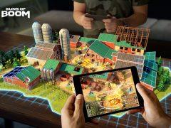 Guns of Boom : le shooter online qui tire parti de la réalité augmentée