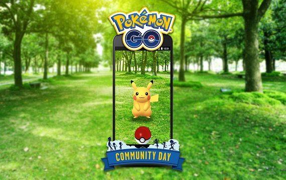 Pokemon Go Community Day evenement mensuel Pokemon Go Pikachu Surfeur