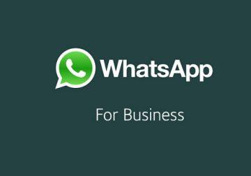 WhatsApp Business réseau social pour entreprises