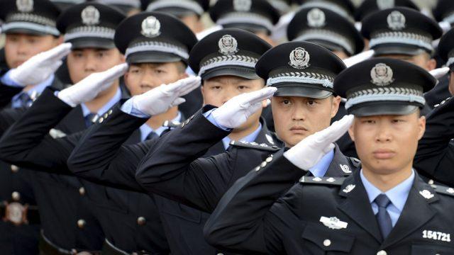 Application pour denoncer les comportements suspects en Chine