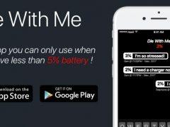 Die With Me, une application pour personnes n'ayant plus de batterie
