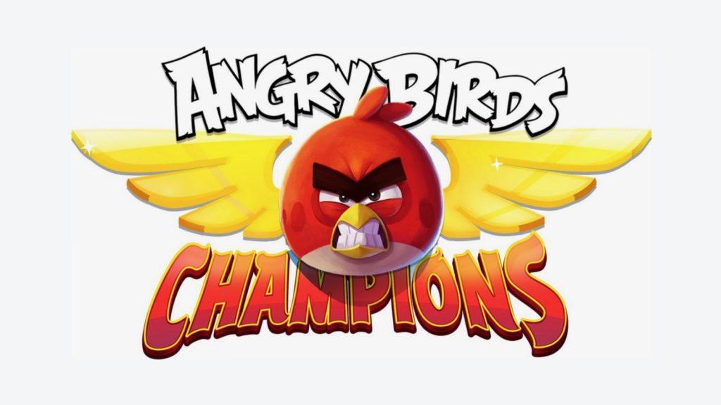 Angry Birds Champions jeu mobile e-sport
