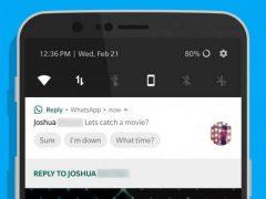 Google Reply : répondez aux notifications de vos applications !