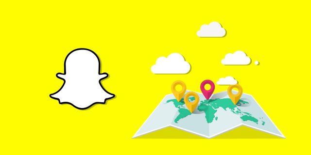 Nouveauté Snapchat - Snap map