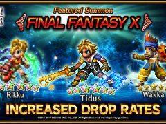 FFBE : c'est le retour de Tidus et de l'événement Final Fantasy X