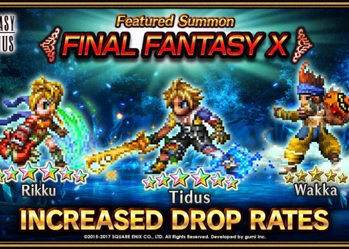 FFBE Final Fantasy X Tidus