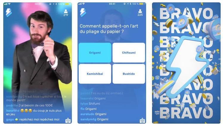 Gagnez de l'argent avec Flashbreak, un quiz sur Android et iOS !