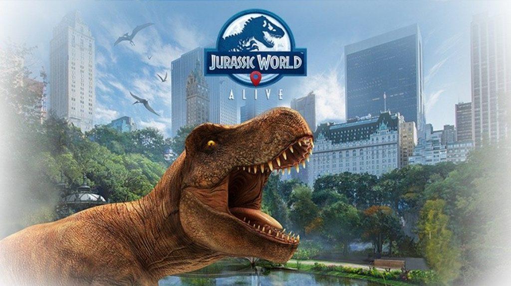 Jurassic World Alive : un Pokémon Go avec des dinosaures !