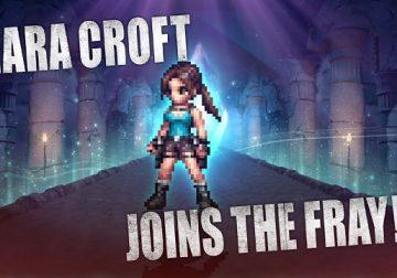 Lara Croft FFBE crossover Final Fantasy Tomb Raider Square Enix